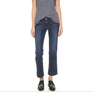 Frame Le Slim Straight Trouser Jeans Size 27